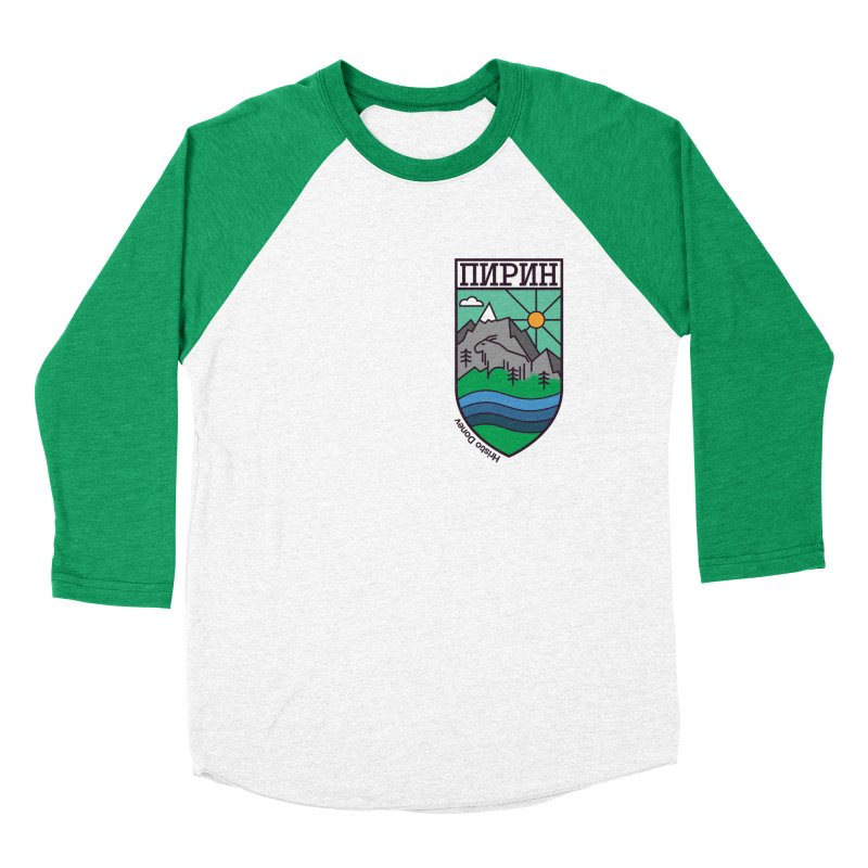 Pirin Men's Baseball Triblend Longsleeve T-Shirt by Hristo's Shop