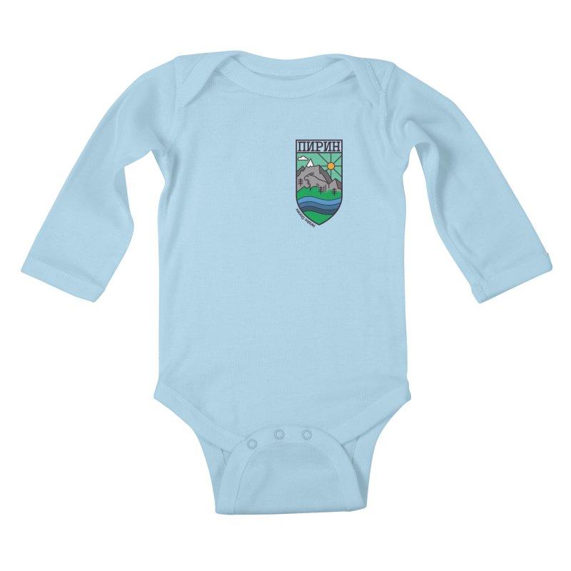 Pirin Kids Baby Longsleeve Bodysuit by Hristo's Shop