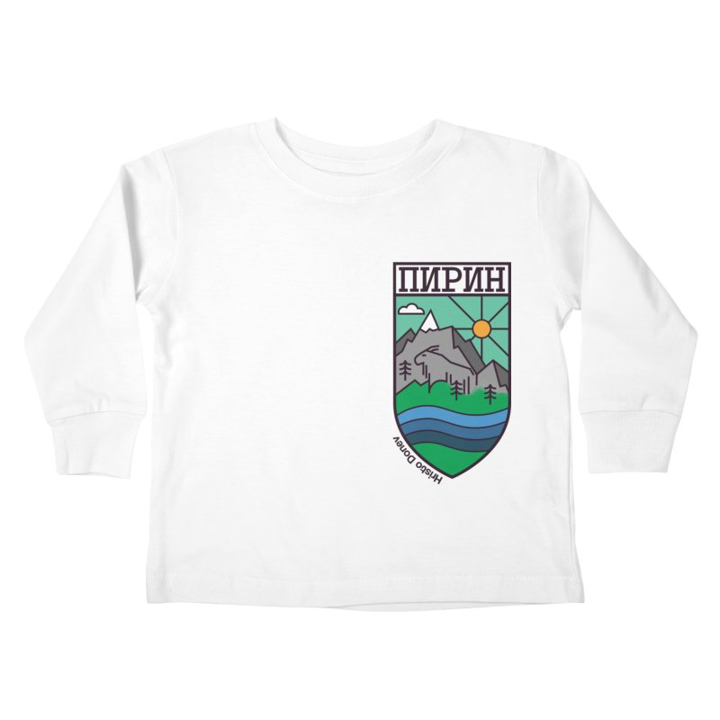 Pirin Kids Toddler Longsleeve T-Shirt by Hristo's Shop