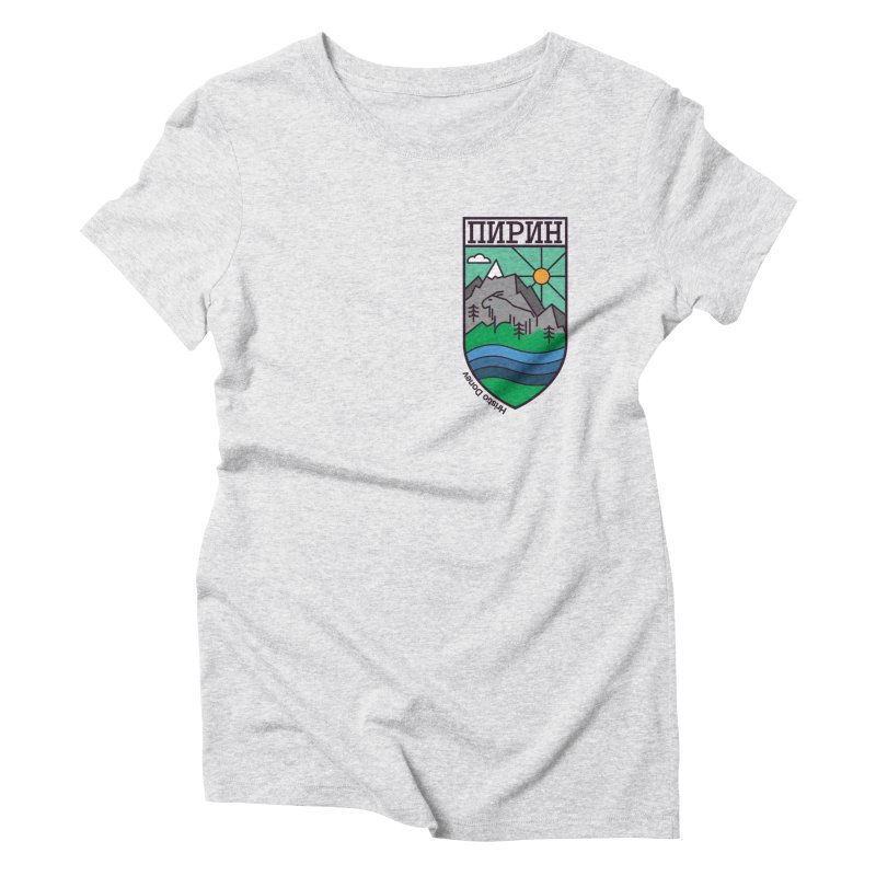 Pirin Women's T-Shirt by Hristo's Shop