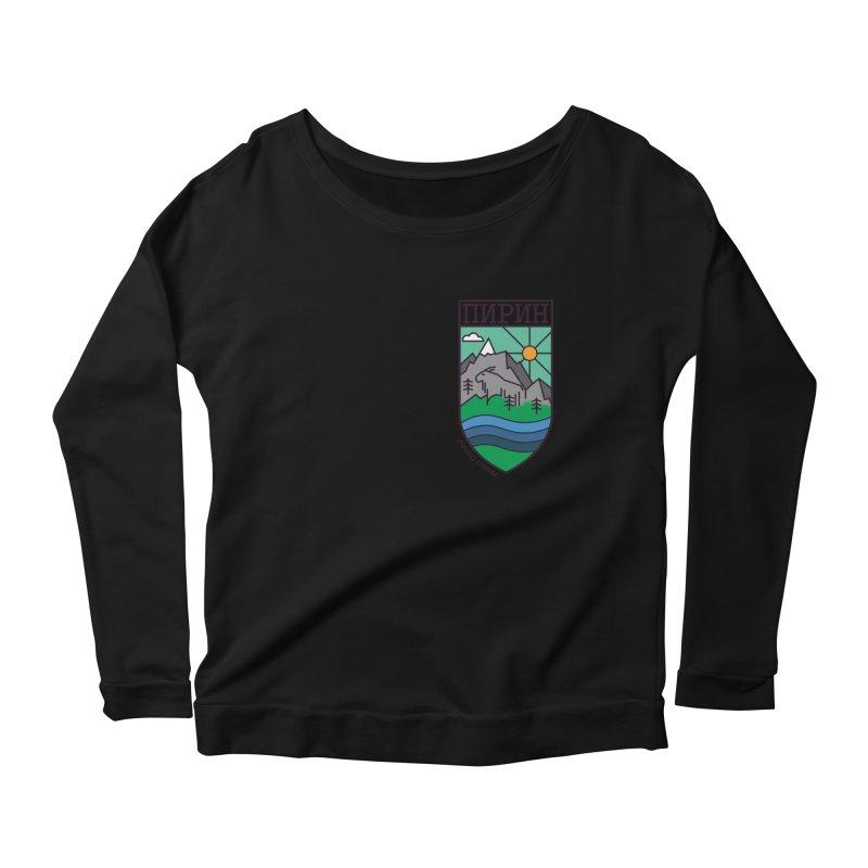 Pirin Women's Scoop Neck Longsleeve T-Shirt by Hristo's Shop