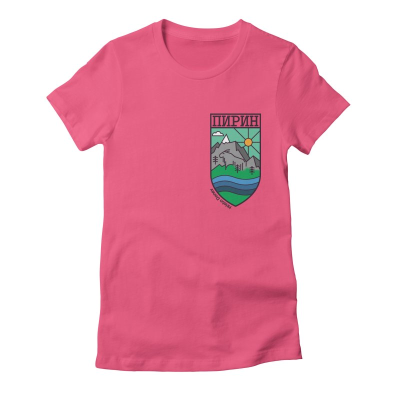 Pirin Women's Fitted T-Shirt by Hristo's Shop