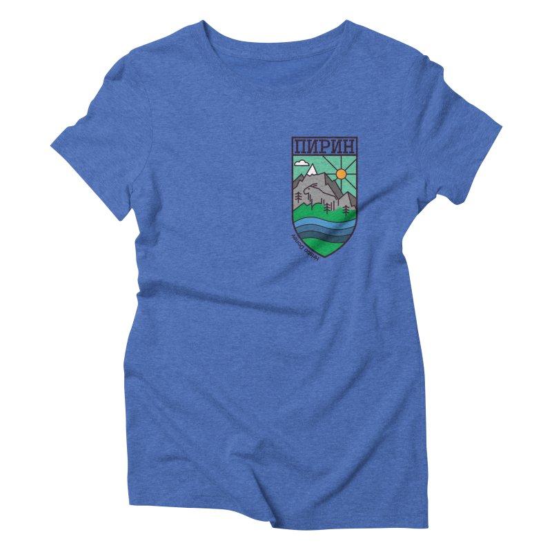 Pirin Women's Triblend T-Shirt by Hristo's Shop