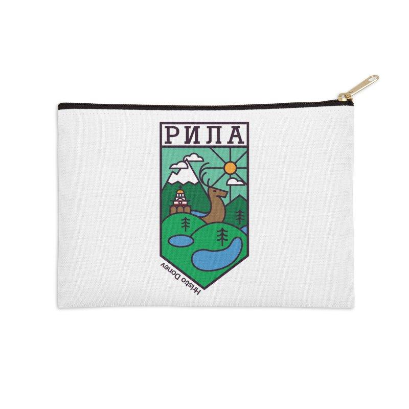 Rila Accessories Zip Pouch by Hristo's Shop