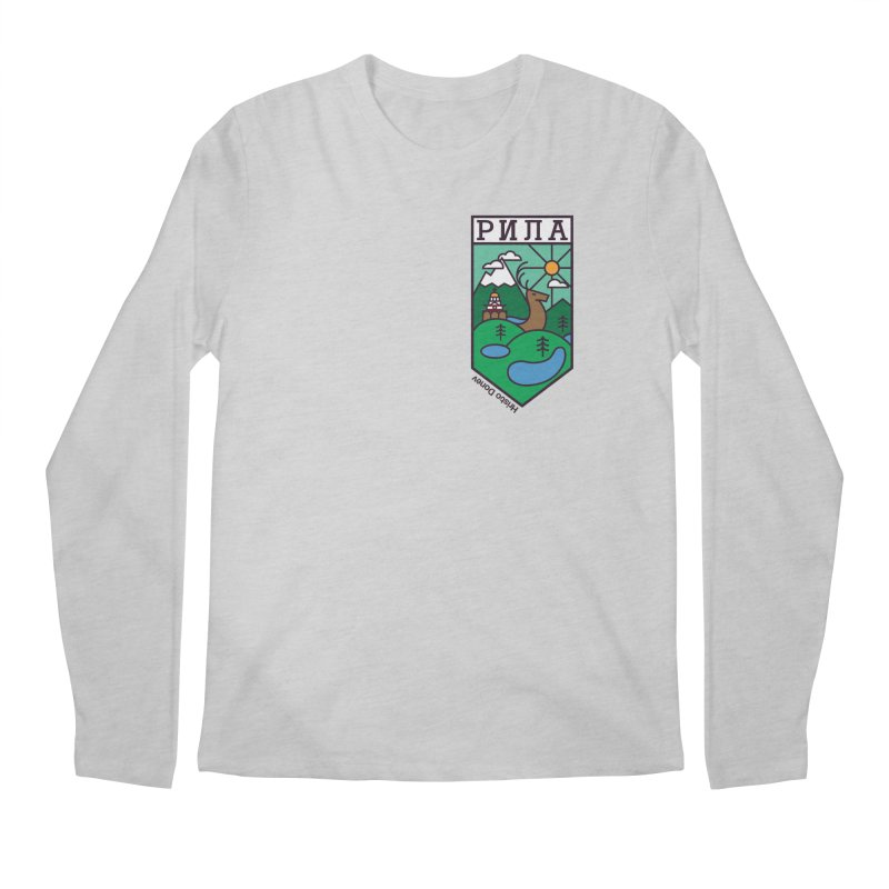 Rila Men's Regular Longsleeve T-Shirt by Hristo's Shop