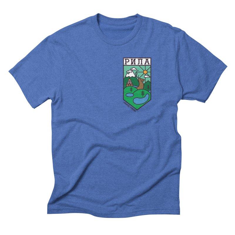 Rila Men's Triblend T-Shirt by Hristo's Shop