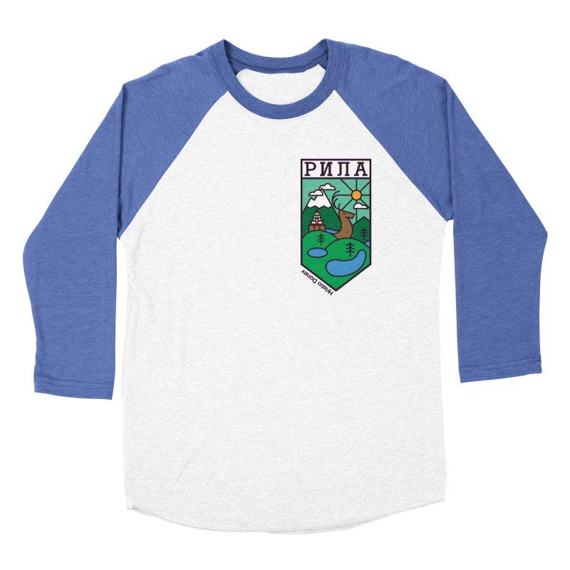 Rila Women's Baseball Triblend Longsleeve T-Shirt by Hristo's Shop