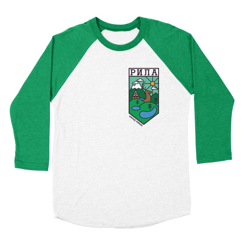 Rila Women's Baseball Triblend Longsleeve T-Shirt by Hristo's Shop