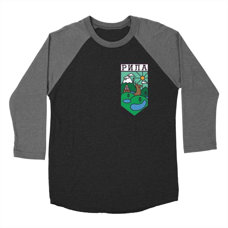 Rila Women's Baseball Triblend T-Shirt by Hristo's Shop