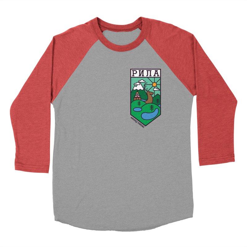 Rila Men's Baseball Triblend T-Shirt by Hristo's Shop