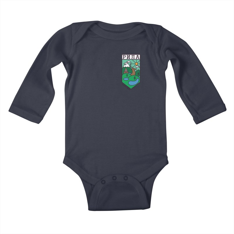 Rila Kids Baby Longsleeve Bodysuit by Hristo's Shop