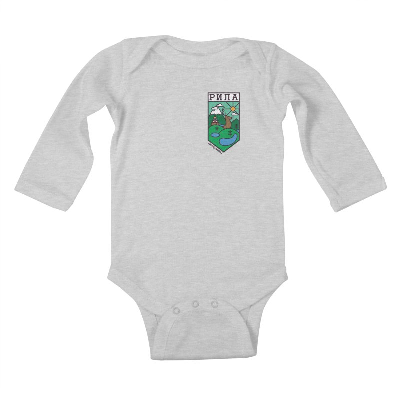 Rila Kids Baby Longsleeve Bodysuit by Hristo's Shop