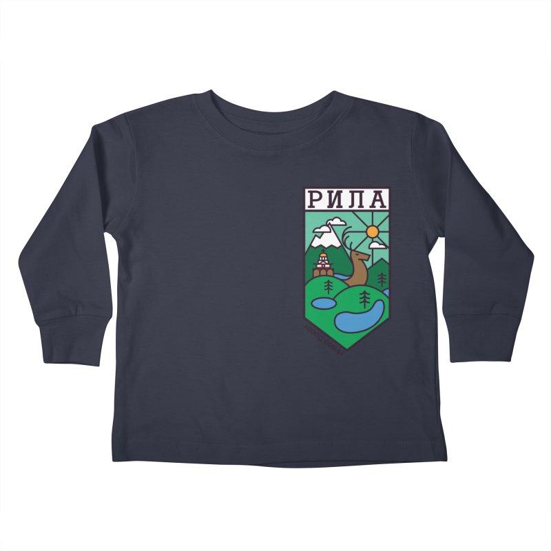 Rila Kids Toddler Longsleeve T-Shirt by Hristo's Shop