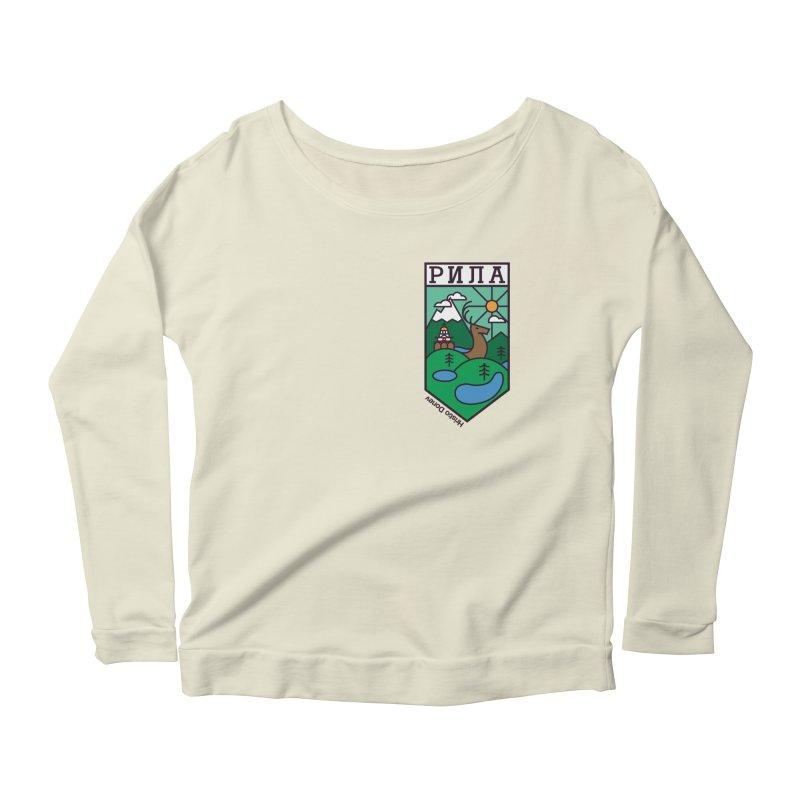 Rila Women's Scoop Neck Longsleeve T-Shirt by Hristo's Shop
