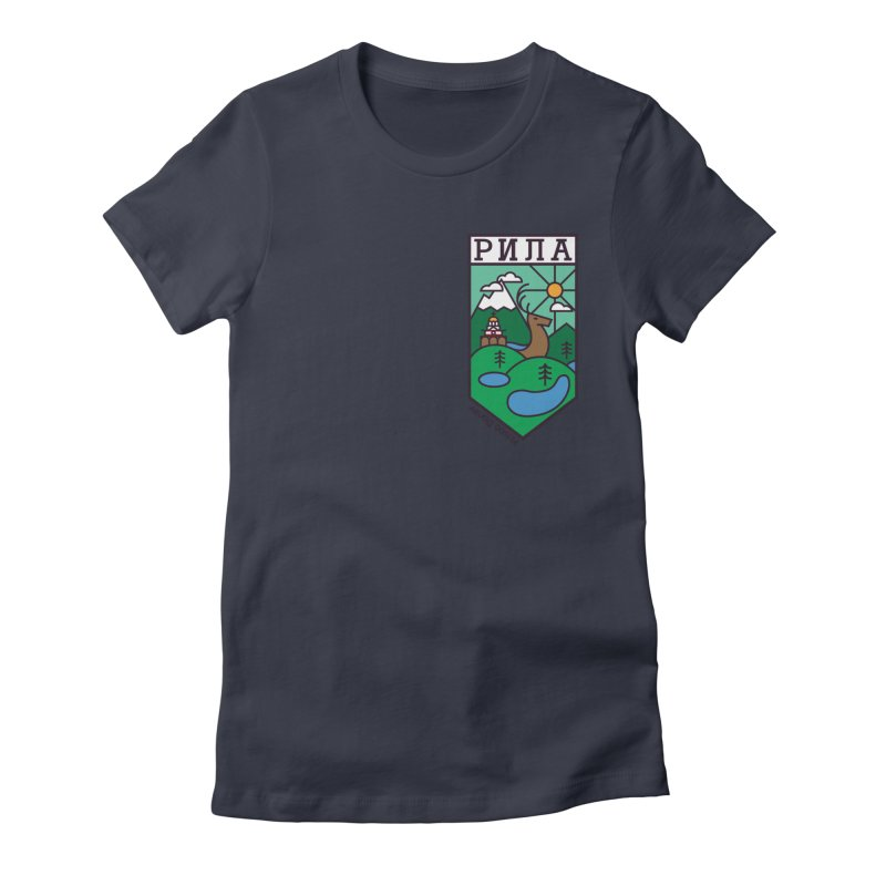 Rila Women's Fitted T-Shirt by Hristo's Shop