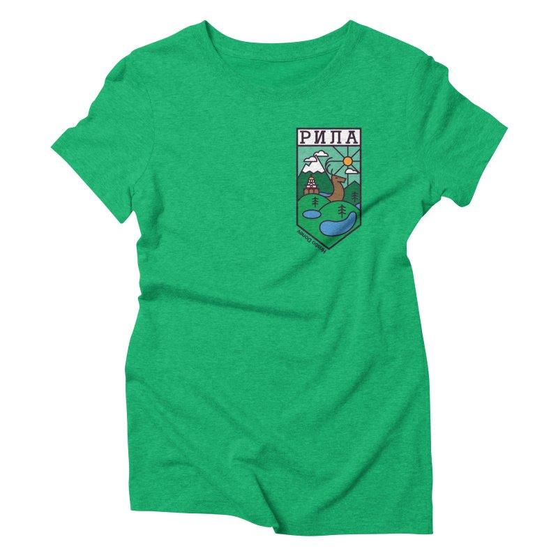 Rila Women's Triblend T-Shirt by Hristo's Shop