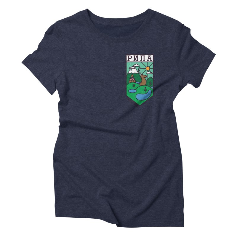 Rila Women's Triblend T-Shirt by Hristo's Shop