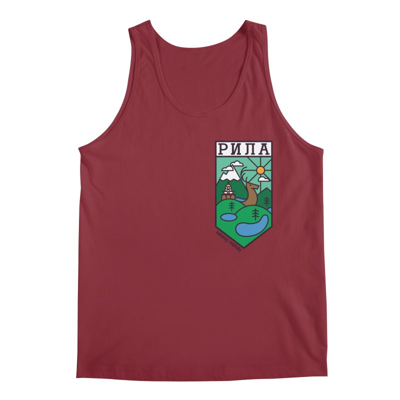 Rila Men's Regular Tank by Hristo's Shop