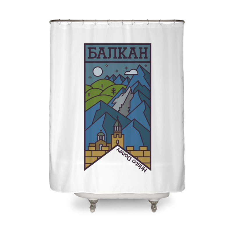 Balkan Home Shower Curtain by Hristo's Shop