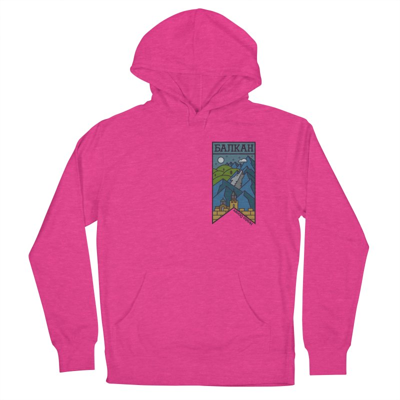 Balkan Women's French Terry Pullover Hoody by Hristo's Shop
