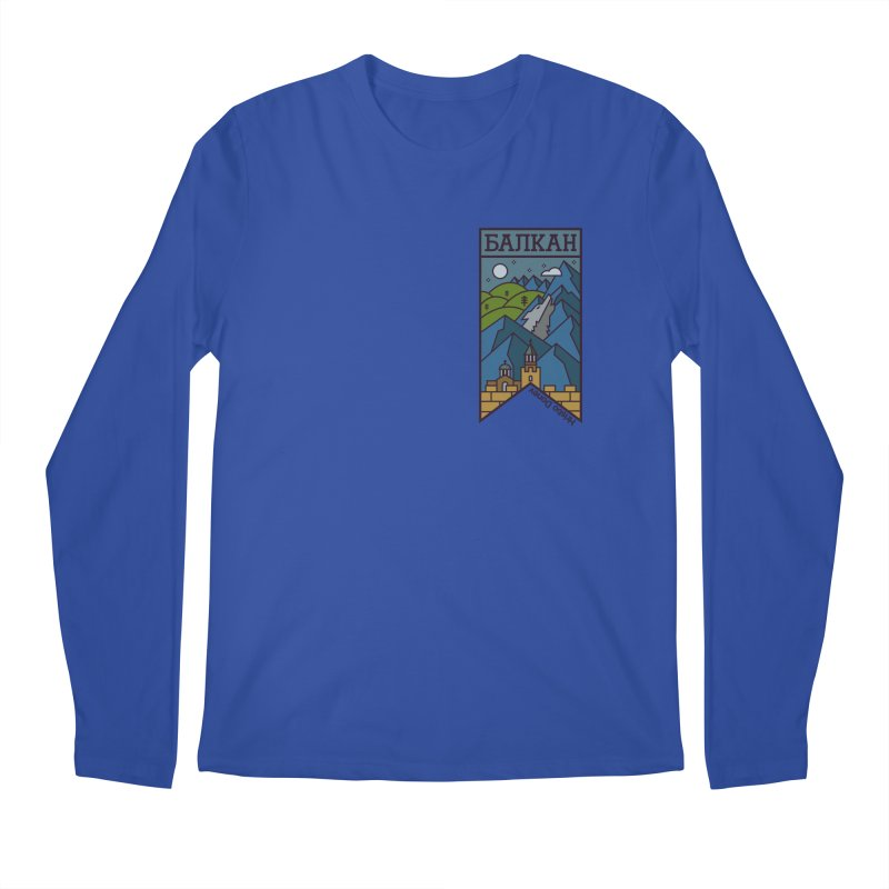 Balkan Men's Longsleeve T-Shirt by Hristo's Shop