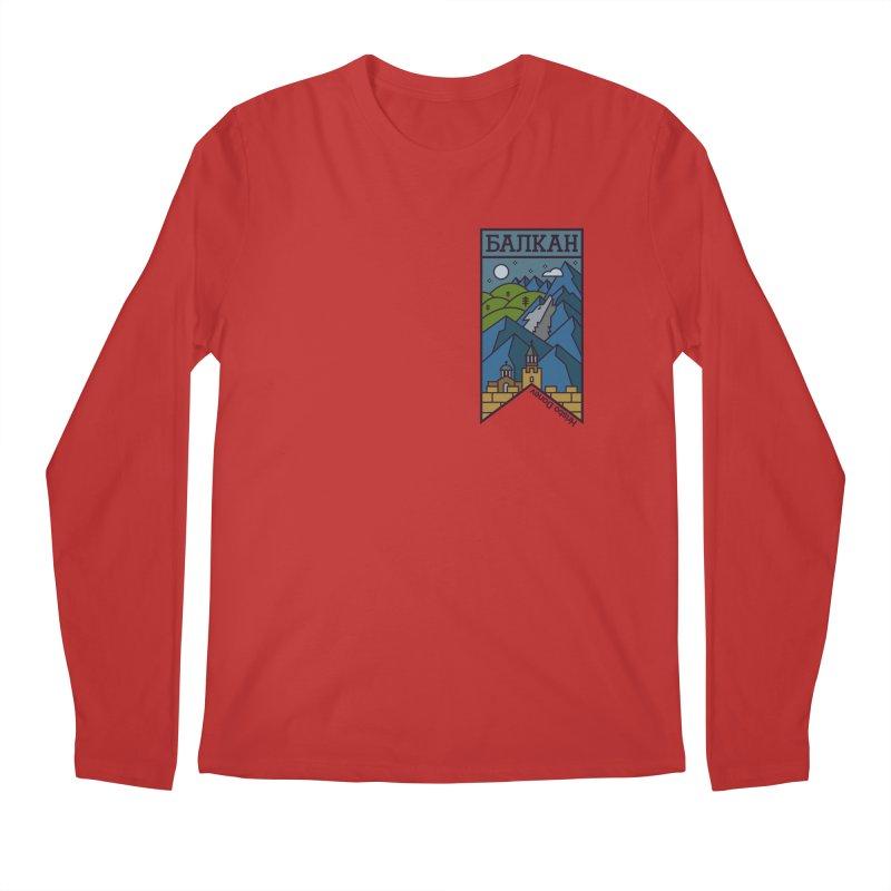 Balkan Men's Regular Longsleeve T-Shirt by Hristo's Shop