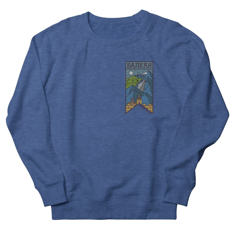 Balkan Women's French Terry Sweatshirt by Hristo's Shop