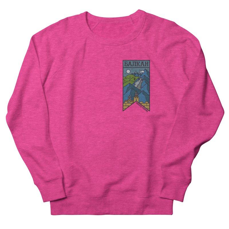 Balkan Men's French Terry Sweatshirt by Hristo's Shop