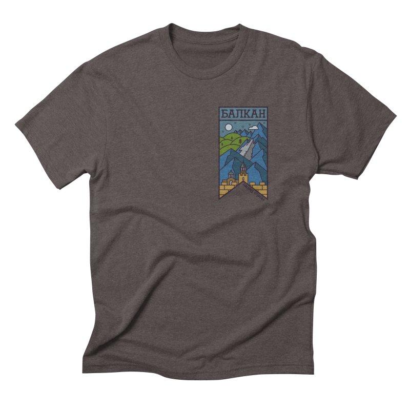 Balkan Men's Triblend T-Shirt by Hristo's Shop