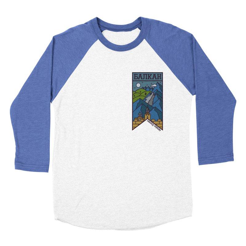 Balkan Women's Baseball Triblend T-Shirt by Hristo's Shop