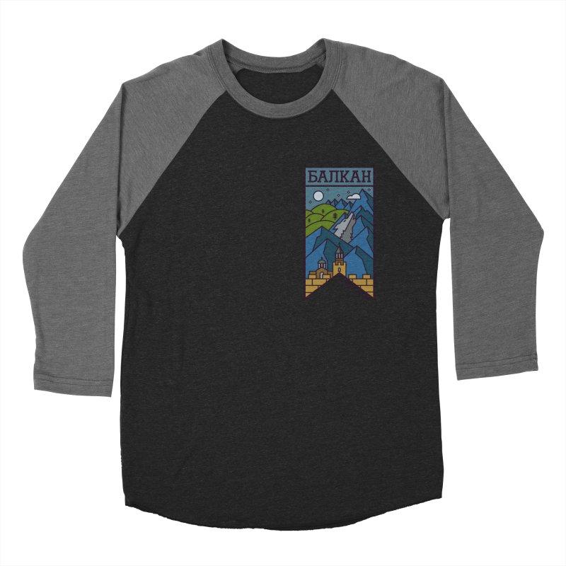 Balkan Women's Baseball Triblend Longsleeve T-Shirt by Hristo's Shop