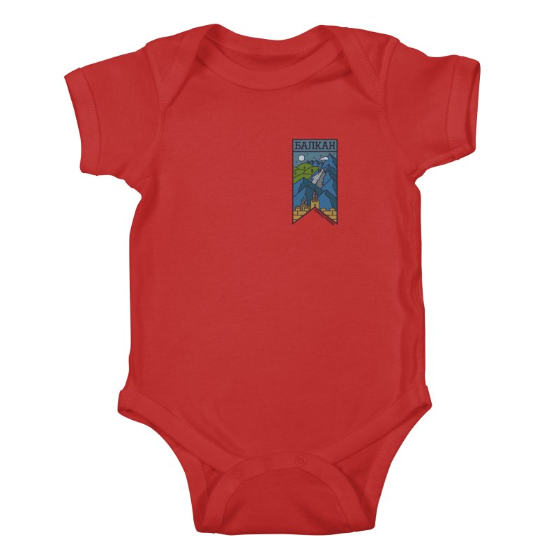 Balkan Kids Baby Bodysuit by Hristo's Shop