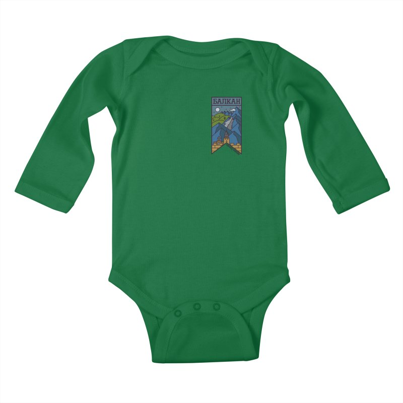 Balkan Kids Baby Longsleeve Bodysuit by Hristo's Shop
