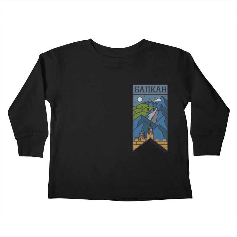 Balkan Kids Toddler Longsleeve T-Shirt by Hristo's Shop
