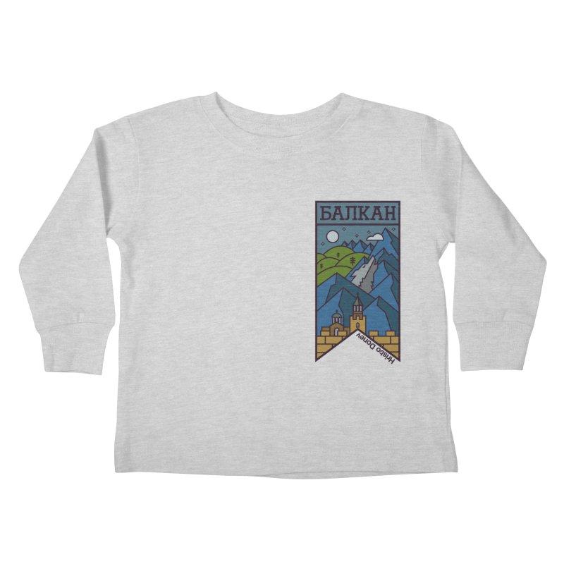 Balkan Kids Toddler Longsleeve T-Shirt by Hristo's Shop