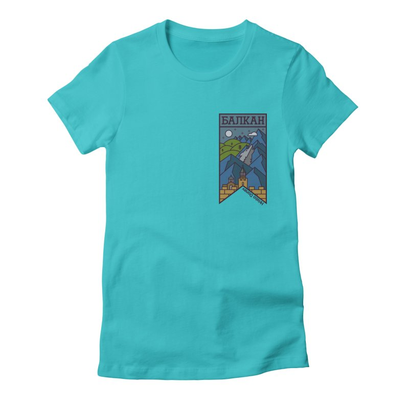 Balkan Women's Fitted T-Shirt by Hristo's Shop
