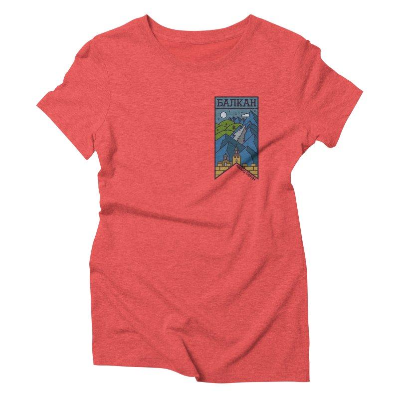 Balkan Women's Triblend T-Shirt by Hristo's Shop