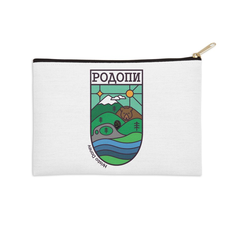 Rhodopi Accessories Zip Pouch by Hristo's Shop