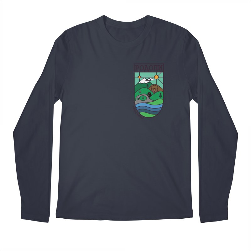 Rhodopi Men's Regular Longsleeve T-Shirt by Hristo's Shop