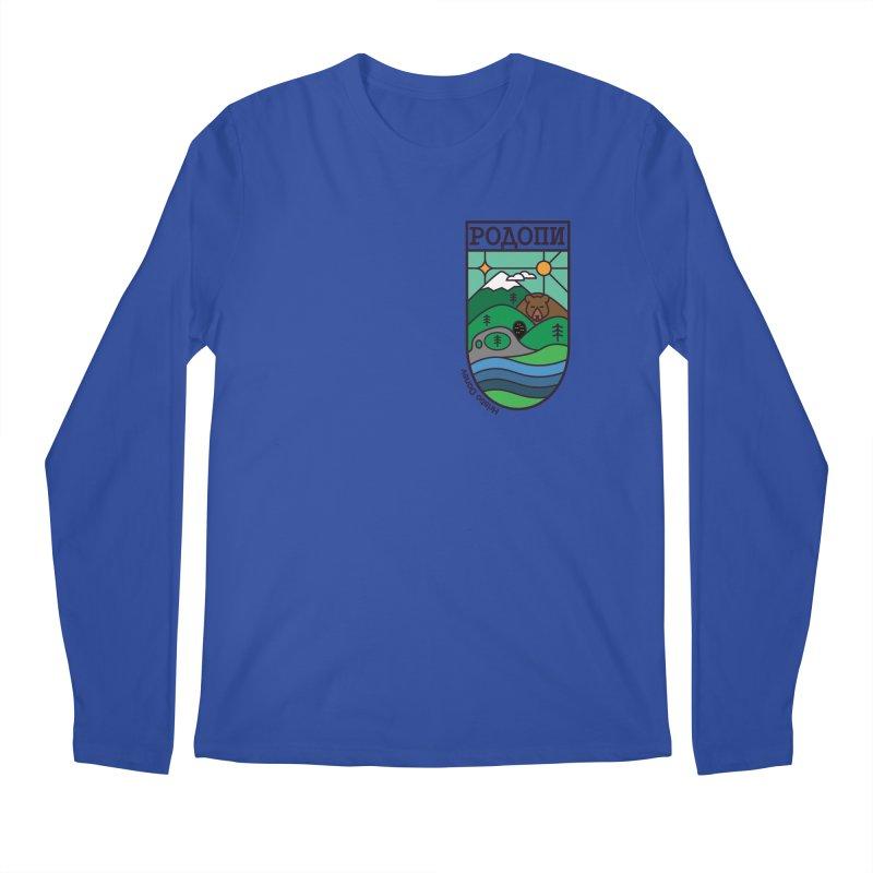 Rhodopi Men's Longsleeve T-Shirt by Hristo's Shop