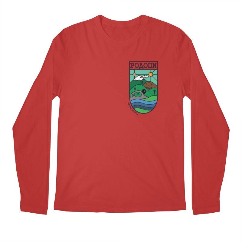 Rhodopi Men's Regular Longsleeve T-Shirt by Hristo's Shop