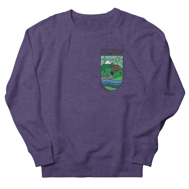 Rhodopi Women's French Terry Sweatshirt by Hristo's Shop