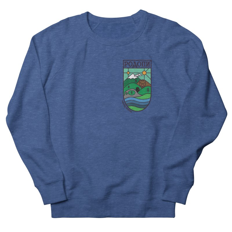 Rhodopi Men's French Terry Sweatshirt by Hristo's Shop