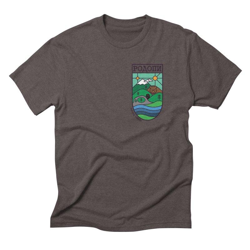 Rhodopi Men's Triblend T-Shirt by Hristo's Shop