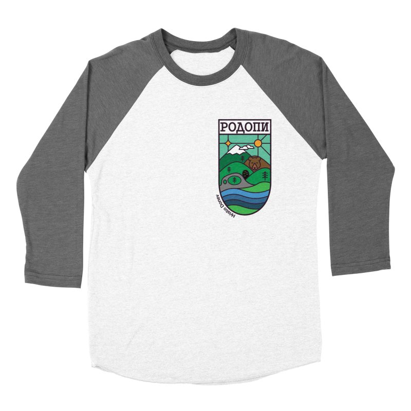 Rhodopi Women's Baseball Triblend Longsleeve T-Shirt by Hristo's Shop