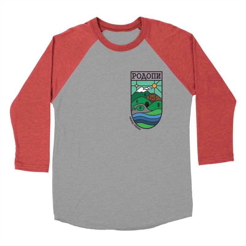 Rhodopi Women's Baseball Triblend Longsleeve T-Shirt by Hristo's Shop