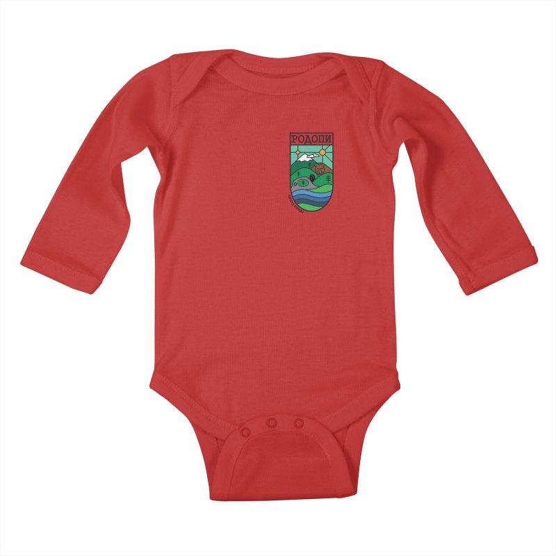 Rhodopi Kids Baby Longsleeve Bodysuit by Hristo's Shop