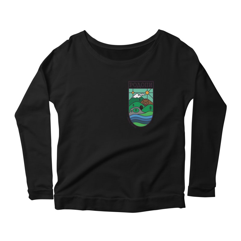 Rhodopi Women's Scoop Neck Longsleeve T-Shirt by Hristo's Shop