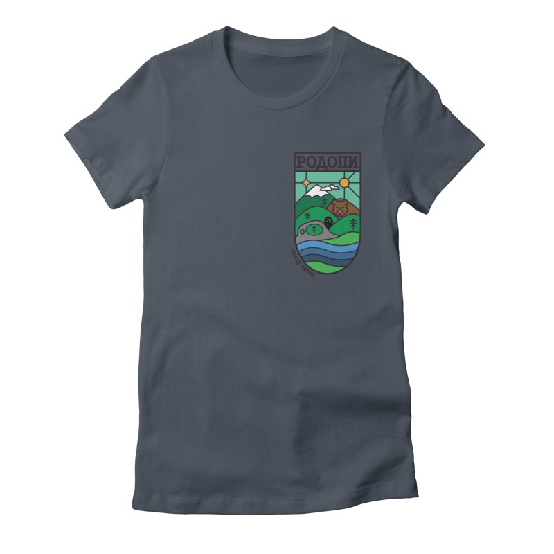 Rhodopi Women's Fitted T-Shirt by Hristo's Shop