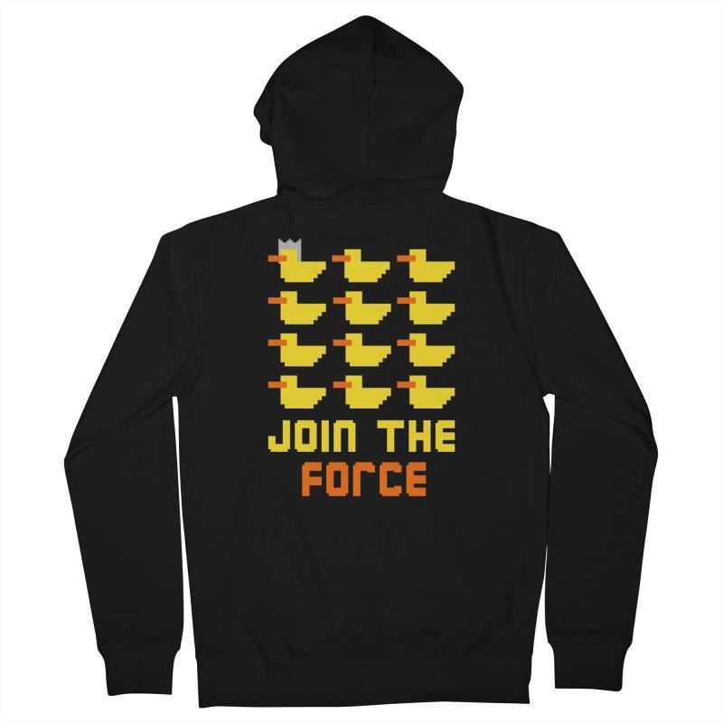 Join the duck force Women's Zip-Up Hoody by hristodonev's Artist Shop
